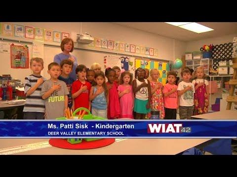 Ms. Patti Sisk Kindergarten class: Deer Valley Elementary School