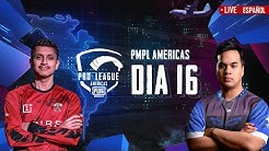 [ES] PMPL Americas Dia 16 | PUBG MOBILE Pro League 2020 - Temporada 1
