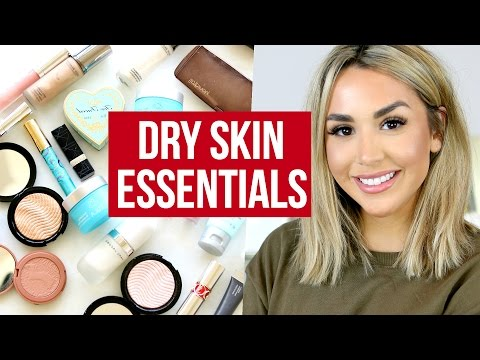 WINTER SKINCARE & MAKEUP MUST HAVES! DRY SKIN ESSENTIALS
