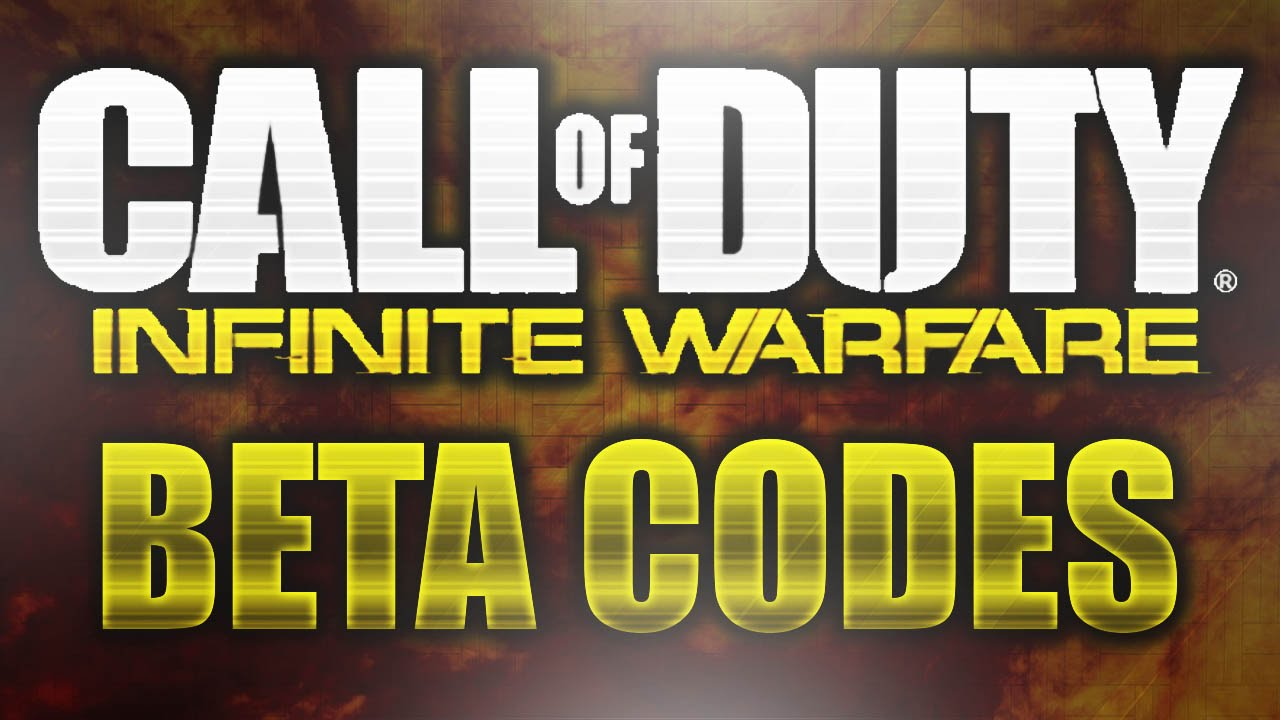 Infinite Warfare Beta Code