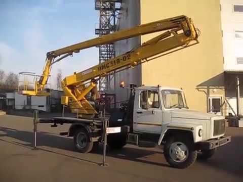 Автогидроподъемник ПМС-318-02 (ГАЗ-3309)