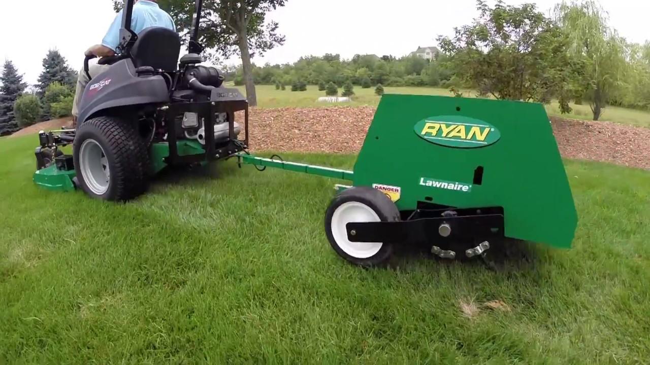 Lawnaire Tow-Behind Aerator | RYAN Turf Renovation Equipment