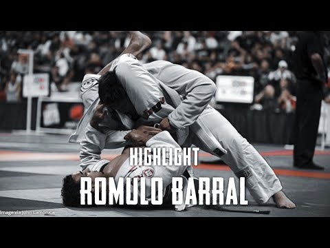 Romulo Barral Spider Guard Highlight