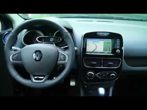New 2016 Renault Clio IV GTLine - Interior - YouTube