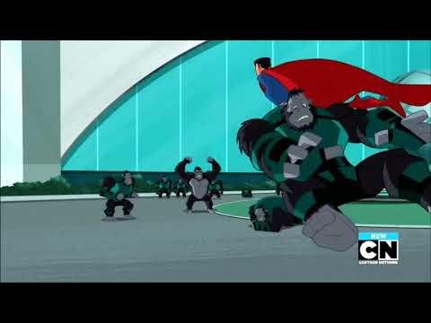 Justice League Action   Mr Mxyzptlk switches Batman Stargirl and Supermans bo