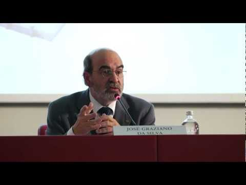 UNISG - Lectio Magistralis of FAO Director-General, José Graziano da Silva