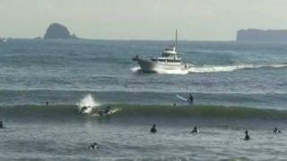 USAMI TOMATA BEACH IN THE CITY OF ITO, SHIZUOKA JAPAN-NOV 14,'08.wmv