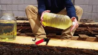 Removing ethanol from gas