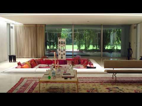 Miller House And Garden Youtube