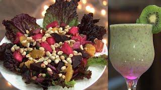 Ruchi Vismayam l EP - 22 Roasted Beetroot Salad & Kiwi smoothie | Mazhavil Manorama