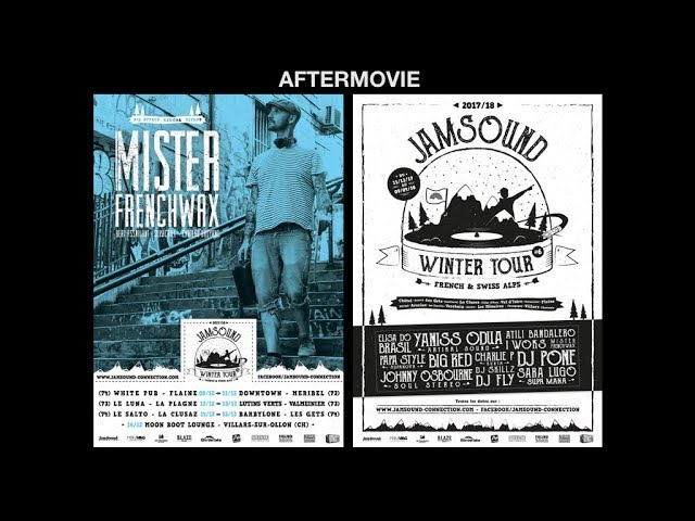 Jamsound Winter Tour 2017 / 2018 - Mister FrenchWax