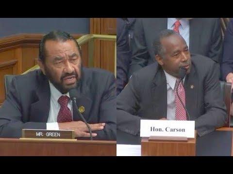 Download Youtube: 🤔 Rep Al Green Grills HUD Secretary Ben Carson Over Budget Cuts