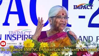 Bharatheeyam Satyavani|| భారతీయం సత్యవాణి గారి అద్భుత ప్రసంగం ||  IMPACT KURNOOL | 2019