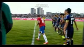 スタンコビッチが引退 長友とおじぎでさようなら サッカー セルビア代表vs日本代表 2013