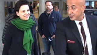 French Actress Juliette Binoche Arrives In LA
