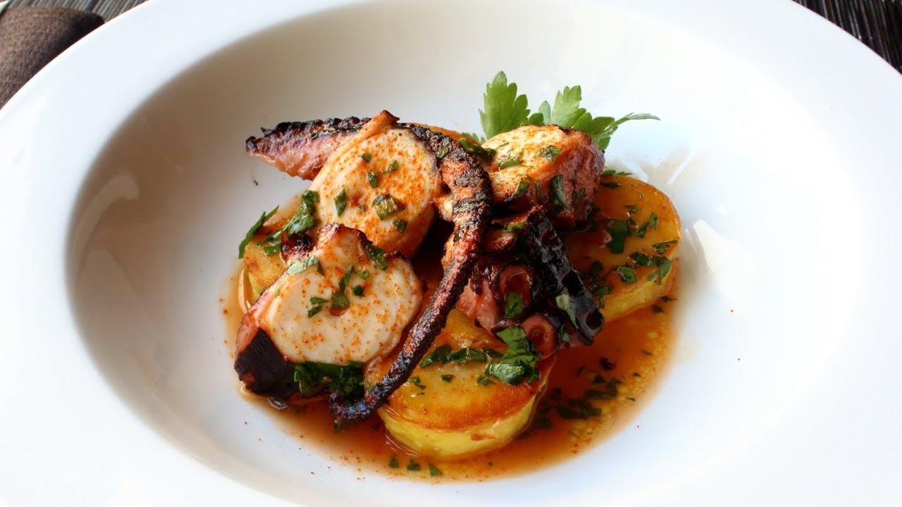 Spanish Octopus - Spanish-Style Braised Octopus Recipe