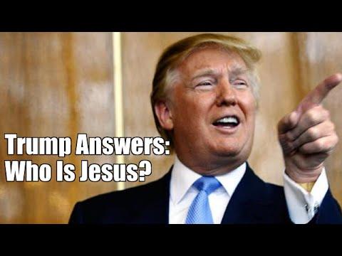 Trump Talks About Jesus