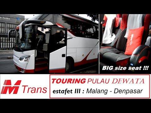 MENANG di KURSI!!! JOSSS lebih lega, lebih empuk, lebih nyaman | Trip Report M Trans Malang-Bali