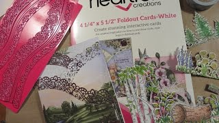 How To Tutorial Heartfelt Creations Fold Out Card