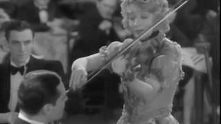 """My Dream Melody"" 1929, Betty Compson on violin."