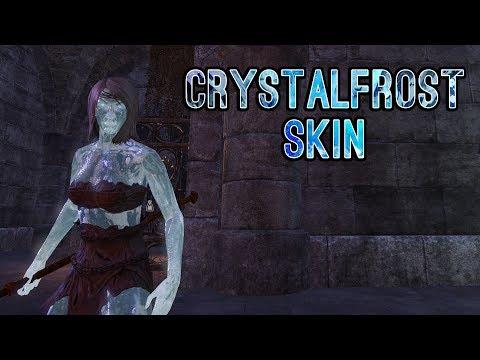 Crystalfrost Skin Showcase : elderscrollsonline