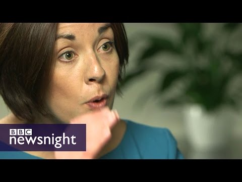 Kirsty Warks meets Scottish Labour leader Kezia Dugdale  - BBC Newsnight