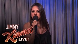 "Mila Kunis Against Men Saying ""We Are Pregnant"""