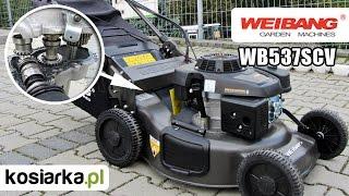 Kosiarka Weibang WB537SCV 3w1 z napędem na wał Kardana i niewiarygodnym rozruchem