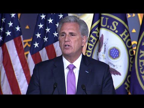 McCarthy: Pelosi's actions 'weaken' the nation
