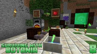 Surviving With Botania :: E08 - Endoflame & Exoflame Mana Generation