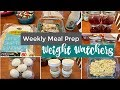 Weekly Meal Prep | Weight Watchers Freestyle