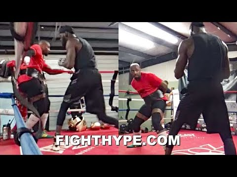 MALIK SCOTT IMITATES TYSON FURY FOR DEONTAY WILDER IN CAMP; SNEAK PEEK OF HOW FIGHT COULD GO