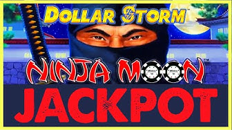 ⚡️HIGH LIMIT Dollar Storm Ninja Moon HANDPAY JACKPOT $18 SPIN ⚡️Egyptian Jewels Slot Machine Casino