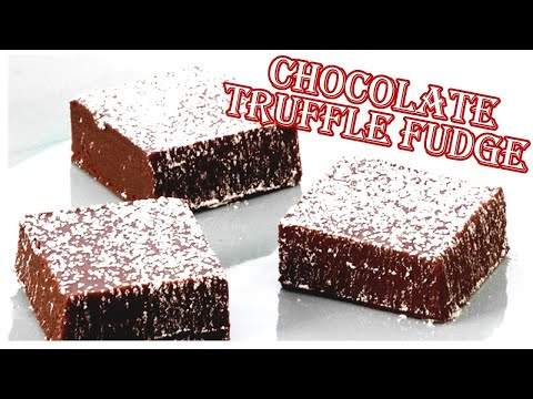 Anna Makes Chocolate Truffle Fudge, Perfect For Christmas!