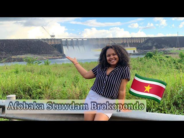 VLOG #107 Afobaka Stuwdam Suriname 🇸🇷 *Ik heb een pakketje uit Duitsland* 🇩🇪💃😻|echt blij…