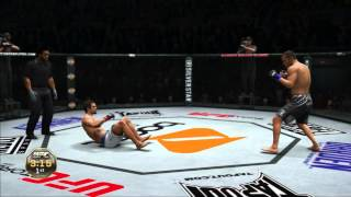 ufc undisputed 3 ps3 gameplay vitor belfort vs dan henderson