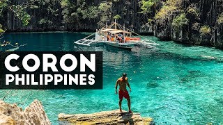 The MOST ICONIC Spots You MUST SEE in Coron, Philippines