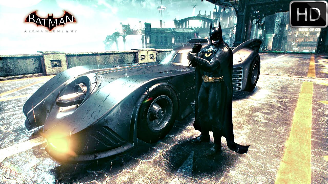 how to get the prototype batmobile in arkham knight