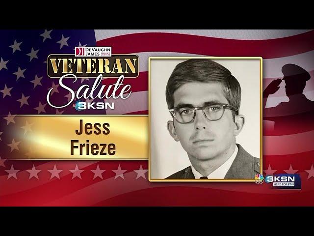 Veteran Salute: Jess Frieze