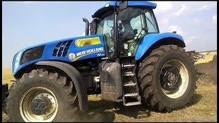 видео Трактор New Holland (Нью Холланд) Средний класс: Т8000 (T8020, 8030, 8040, 8050)