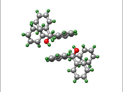 O-H...π(arene) intermolecular hydrogen bonding in the structure of 1,1,2-triphenylethanol