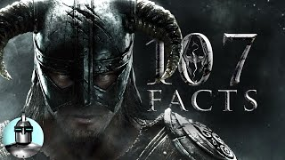107 Skyrim Facts YOU Should KNOW!! | The Leaderboard thumbnail