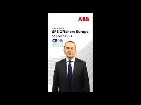 Troy Stewart, Global Service Manager, ABB