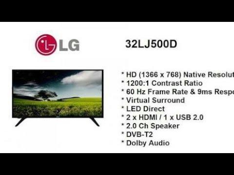 LED TV LG 32 inch 32lj500 digital