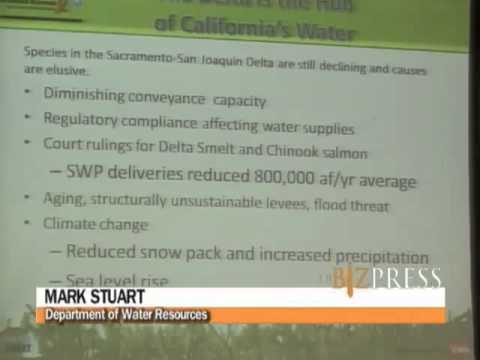 Mark Stuart of the Department of Water Resources