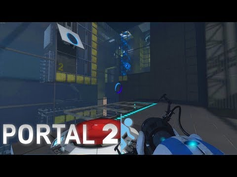 Speedy Didn't Tell Me There Was A Button! Portal 2 Co Op Story - Episode 6