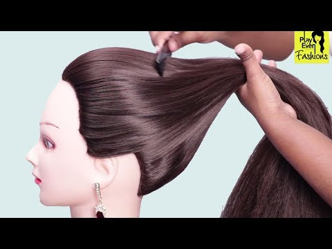 3 New hairstyles for office/party/Wedding ★ Everyday hairstyle for ladies ★ hair style girl thumbnail