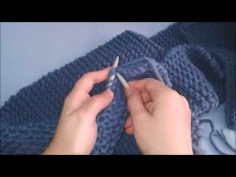 How To Knit Scarf For Beginners In Min Step By Step Very Easy Scarf Tutorial