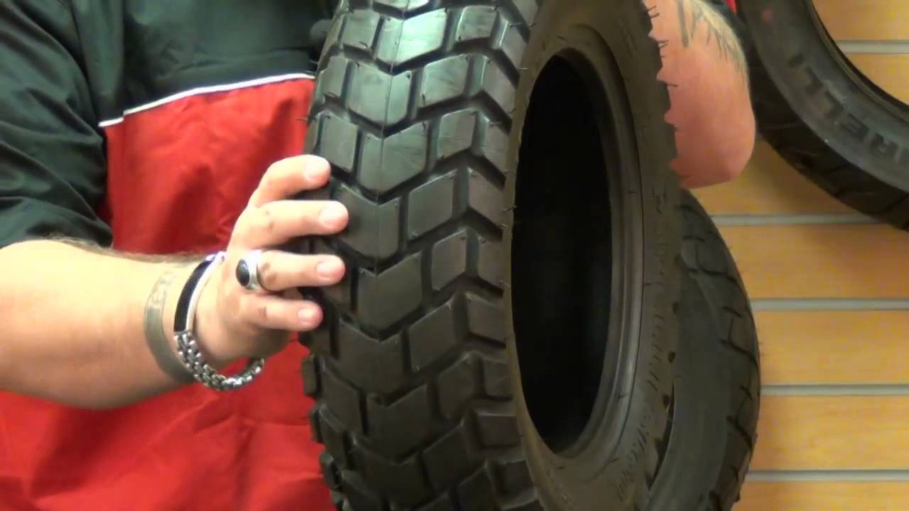 Motorcycle Rear Tire >> Pirelli SL 60 Front/Rear Scooter Motorcycle Tire Review... - YouTube