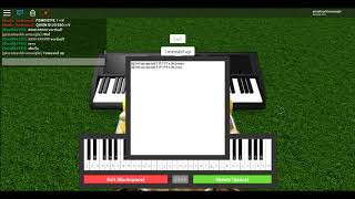 Bitch lasagna On a roblox piano! ~|~ to save pewdiepie